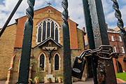 Despite being Easter Sunday the churches of Clapham and Balham (incl the Holy Ghost Catholic Church, which is padlocked) are all shut. The 'lockdown' continues for the Coronavirus (Covid 19) outbreak in London.