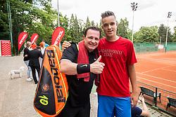 Rado Mulej and Jaka Kaplja at Petrol VIP tournament 2018, on May 24, 2018 in Sports park Tivoli, Ljubljana, Slovenia. Photo by Vid Ponikvar / Sportida