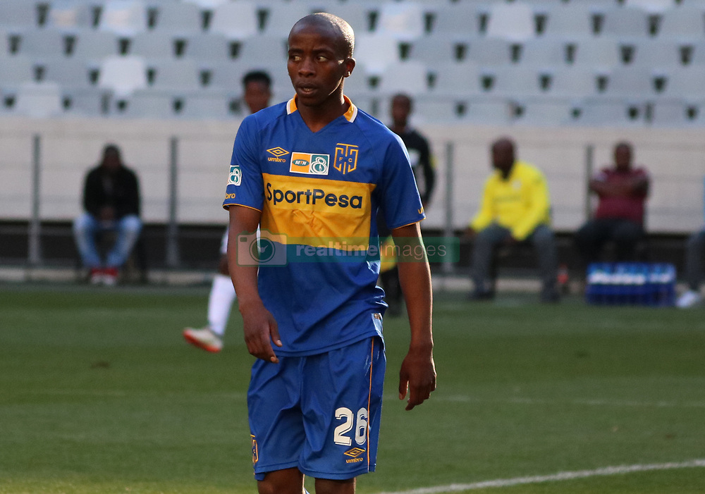 Thabo Nodada in the MTN8 semi-final first leg match between Cape Town City and Bidvest Wits at the Cape Town Stadium on Sunday 27 August 2017.