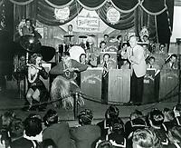 4/7/45 Kay Kyser and his orchestra at the Hollywood Canteen