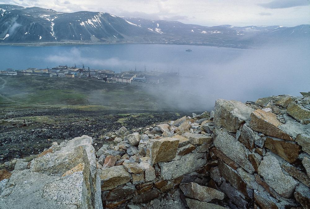 Seaport of Provideniya, Chukotsk Peninsula, Northeast Russia, 1992