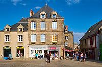 France, Loire-Atlantique (44), Presqu'île de Guérande, Guérande, la cité médiévale // France, Loire-Atlantique, Guérande, medieval city
