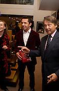 Olivier Picasso and Simon Critchell. . Olivier Widmaier Picasso's book launch for Picasso: The Real Family Story.  Co-hosted by dunhill CEO Simon Critchell and Prestel Publishing -  Dunhill, 48 Jermyn Street, London, SW1, 6.30-8.30pm. ONE TIME USE ONLY - DO NOT ARCHIVE  © Copyright Photograph by Dafydd Jones 66 Stockwell Park Rd. London SW9 0DA Tel 020 7733 0108 www.dafjones.com