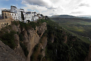 Ronda, with its spectacular views, Andalucia.Route of the Pueblos Blancos (White villages).