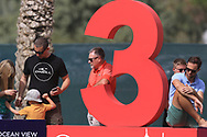 Waiting at the 3rd during Round 2 of the Omega Dubai Desert Classic, Emirates Golf Club, Dubai,  United Arab Emirates. 25/01/2019<br /> Picture: Golffile   Thos Caffrey<br /> <br /> <br /> All photo usage must carry mandatory copyright credit (© Golffile   Thos Caffrey)