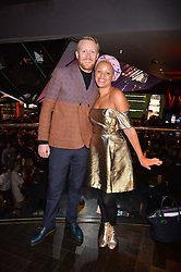 Gemma Cairney and Jim Biddulph at the Costa Book of The Year Awards held at Quaglino's, 16 Bury Street, London England. 31 January 2017.
