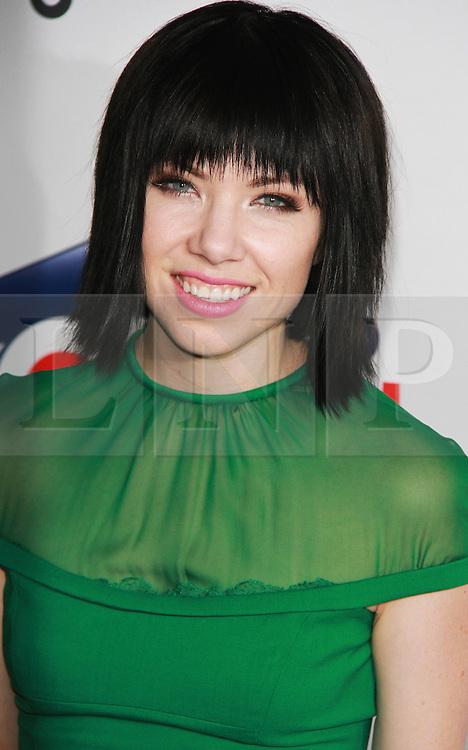 © London News Pictures. Carly Rae Jepsen, Capital FM Summertime Ball, Wembley Stadium, London UK, 06 June 2015, Photo by Brett D. Cove /LNP