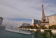 The Paris casino in Las Vegas, Nevada, USA