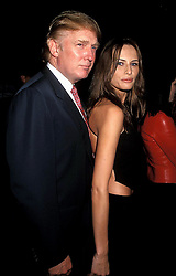 Jan. 1, 2011 - New York, New York, U.S. - K16525HMC          SD0909.99 MTV VIDEO MUSIC AWARDS AT THE METROPOLITAN OPERA HOUSE IN NEW YORK New York.DONALD TRUMP AND MELANIA KNAUSS.  /   1999(Credit Image: © Henry McGee/ZUMAPRESS.com)