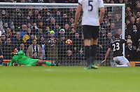 Football - 2016 / 2017 Premier League - Tottenham Hotspur vs. West Bromwich Albion<br /> <br /> Gareth McAuley of WBA deflects the ball past his  own goalkeeper for spurs 2nd goal at White Hart Lane.<br /> <br /> COLORSPORT/ANDREW COWIE