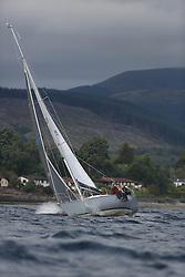 Marine Blast Regatta 2013 - Holy Loch SC<br /> <br /> 4425, Applecore, Richard Murton, MG RS 34<br /> <br /> Credit: Marc Turner / PFM Pictures