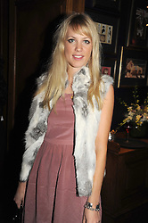 EMMA WIGGIN at the Tatler Magazine Little Black Book party at Tramp, 40 Jermyn Street, London SW1 on 5th November 2008.