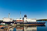 Maine Maritime Academy teaching ship, Castine, Maine, ME, USA