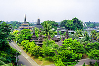 Java, Jakarta. Taman Mini Indonesia Indah. A recreation park with elements from all regions in Indonesia.