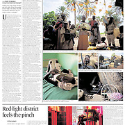 """Tearsheet of """"War in Sudan: the Kerry connection"""" published in The Irish Times Weekend Review magazine"""