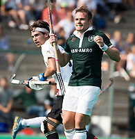 ROTTERDAM - Simon Egerton (R'dam) ,   bij de finale Rotterdam-Amsterdam van de ABN AMRO cup 2017 . COPYRIGHT KOEN SUYK