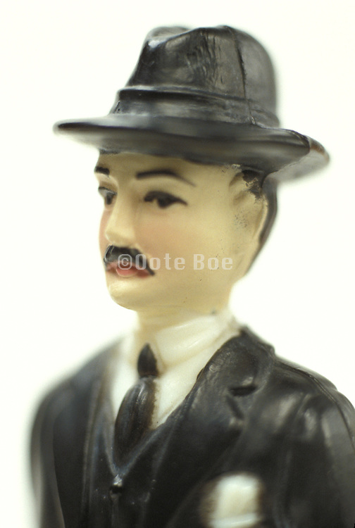 man in business attire figurine