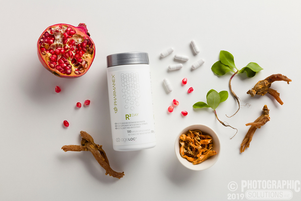 Ingredients for Pharmanex products.