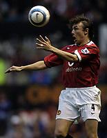 Fotball<br /> Premier League 2004/2005<br /> Foto: BPI/Digitalsport<br /> NORWAY ONLY<br /> <br /> 24/10/2004 <br /> Manchester United v Arsenal<br /> <br /> Gabriel Heinze