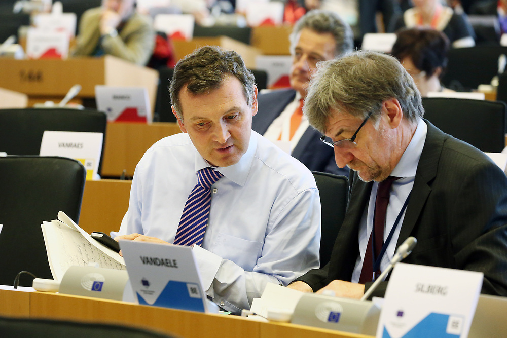 12 May 2017, 123rd Plenary Session of the European Committee of the Regions <br /> Belgium - Brussels - May 2017 <br /> <br /> Mr VANLOUWE Karl, Member of the Flemish Parliament, Belgium<br /> <br /> © European Union / Patrick Mascart
