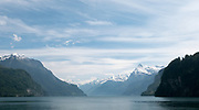 Lucerne, SWITZERLAND<br /> <br /> A general view, off the mountains surrounding Lake Lucerne, . Day trip on Lake.<br /> <br /> Wednesday  <br />  <br />   25.05.2017<br /> <br /> <br /> © Peter SPURRIER<br /> <br /> Panasonic  DMC-LX100  f11  1/800sec  35mm  4.7MB