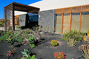 Origo Mare hotel entrance, Majanicho, Fuerteventura, Canary Islands, Spain