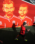 Gareth Bale of Wales arrives for the  Wales football team training at the Cardiff city Stadium in Cardiff , South Wales on Friday 1st September 2017.  the team are preparing for their FIFA World Cup qualifier home to Austria tomorrow.  pic by Andrew Orchard, Andrew Orchard sports photography
