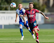 Ipswich Town forward James Norwood (10)  & Bristol Rovers defender Alfie Kilgour (15) during the EFL Sky Bet League 1 match between Bristol Rovers and Ipswich Town at the Memorial Stadium, Bristol, England on 19 September 2020.