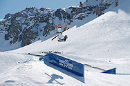 Bobby Brown during Men's Ski Slopestyle Finals at Winter X Games Europe 2012 in Tignes, France. ©Brett Wilhelm/ESPN