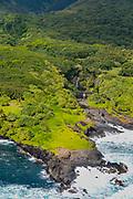 Pools of Oheo, AKA, Seven Sacred Pools, Haleakala Nationa Park, Kipahulu, Hana Coast, Maui, Hawaii