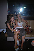 Emily Little and Sophie Cheeseman. Manhattan A* List party in aid of the British Dyslexia association. Raffles nightclub. King's Rd. London. 29 August 2005. ONE TIME USE ONLY - DO NOT ARCHIVE  © Copyright Photograph by Dafydd Jones 66 Stockwell Park Rd. London SW9 0DA Tel 020 7733 0108 www.dafjones.com