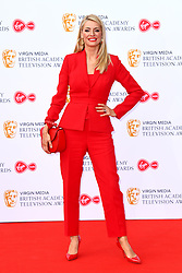 Tess Daly attending the Virgin Media BAFTA TV awards, held at the Royal Festival Hall in London. Photo credit should read: Doug Peters/EMPICS