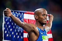 Jeff Henderson (USA) men's long jump winner during the Olympic Games RIO 2016, Athletics, on August 13, 2016, in Rio, Brazil - Photo Vincent Curutchet / KMSP / DPPI