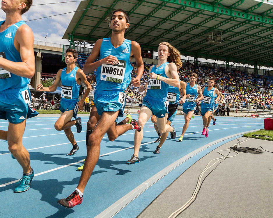 High School Boys Dream Mile, adidas Grand Prix Diamond League track and field meet, Fisher, Khosla, O'Toole
