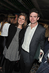 JAMES MEADE and LADY LAURA MARSHAM at the launch party for the new nightclub Tonteria, 7-12 Sloane Square, London on 25th October 2012.
