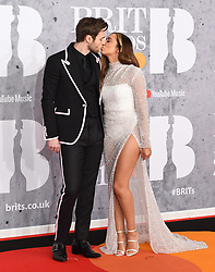 February 21, 2019 - London, London, United Kingdom - Image licensed to i-Images Picture Agency. 20/02/2019. London, United Kingdom.  Jade Thirlwall and boyfriend Jed Elliott at the Brit Awards in London. (Credit Image: © i-Images via ZUMA Press)