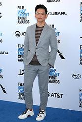 February 23, 2019 - Santa Monica, CA, USA - LOS ANGELES - FEB 23:  John Cho at the 2019 Film Independent Spirit Awards on the Beach on February 23, 2019 in Santa Monica, CA (Credit Image: © Kay Blake/ZUMA Wire)