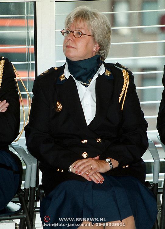 Installatie managmentteam politie Gooi & Vechtstreek, Magda Berndsen