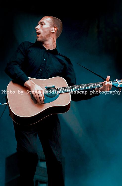 Chris Martin - Coldplay, V2001, Hylands Park, Chelmsford, Essex, Britain - 19 August 2001