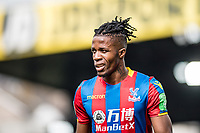 LONDON, ENGLAND - MARCH 31: frustrated, Wilfried Zaha (11) of Crystal Palace during the Premier League match between Crystal Palace and Liverpool at Selhurst Park on March 31, 2018 in London, England.