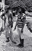 Burning Spear at Home in St Anns Bay