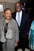 January 30, 2017-New York, New York-United States: (L-R) Dr. Deb Willis, Chair/Curator, Photography Dept., NYU and Social Entrepreneur/Recording Artist Hank Thomas, Sr. attend the National Cares Mentoring Movement 'For the Love of Our Children Gala' held at Cipriani 42nd Street on January 30, 2017 in New York City. The National CARES Mentoring Movement seeks to dispel that notion by providing young people with role models who will play an active role in helping to shape their development.(Terrence Jennings/terrencejennings.com)