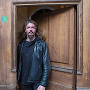 Piccolo Teatro Grassi, Milano, Italia, 3 Aprile 2021. Angelo Perini, 43 anni, musicista.