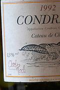condrieu 1992 clusel roch rhone france