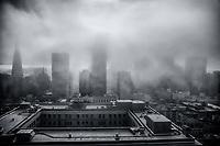 SF Skyline Engulfed in Fog