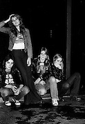 The Runaways photographed in the early 1980's. © Adrian Boot