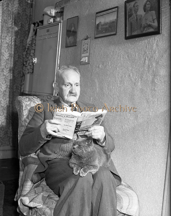 14/01/1953<br /> 01/14/1953<br /> 14 January 1953<br /> Mr. M. Norris, Old British Soldier, at 2. Brighton Cottages, Foxrock, Co. Dublin for.