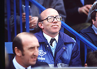 NOBBY STILES. WEST BROMWICH ABLION MANAGER.1985/86.CREDIT COLORSPORT