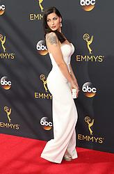 Trace Lysette  bei der Verleihung der 68. Primetime Emmy Awards in Los Angeles / 180916<br /> <br /> *** 68th Primetime Emmy Awards in Los Angeles, California on September 18th, 2016***