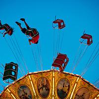 Opening day at the Cumberland County Agricultural Fair.
